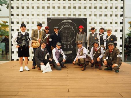 Tweed Run TOKYO 2015 に参加しました。