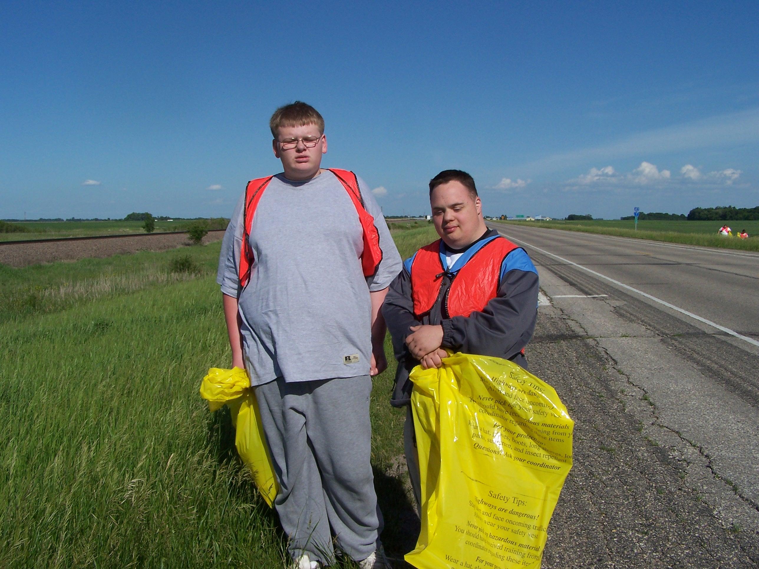 Adopt a Highway Volunteering.JPG