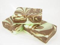 Chocolate Mint Swirl 1/2 Pound box