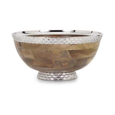 Natural elements of stone, metal and wood come together perfectly in these IMAX accessories.
