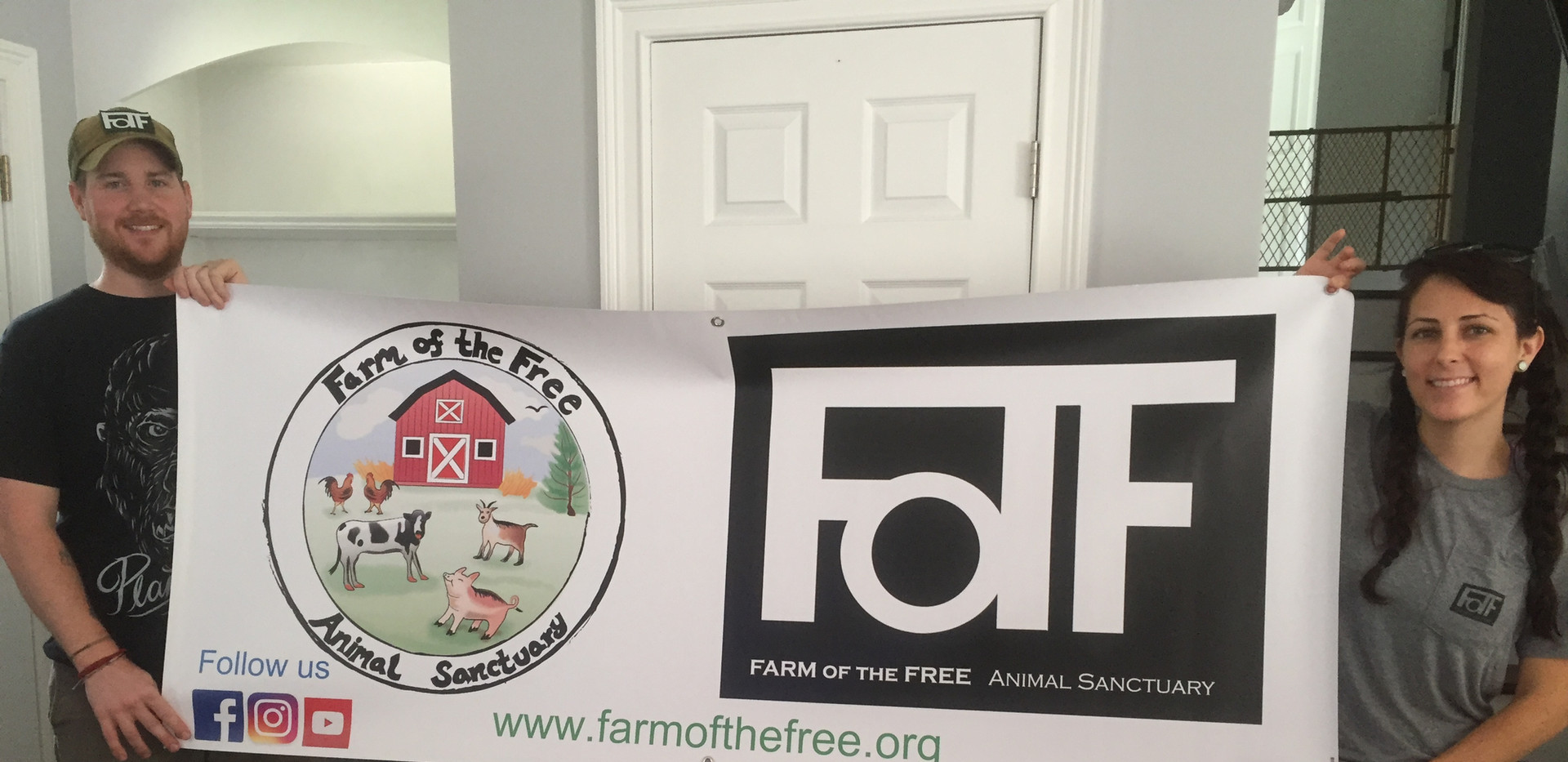Our first banner!