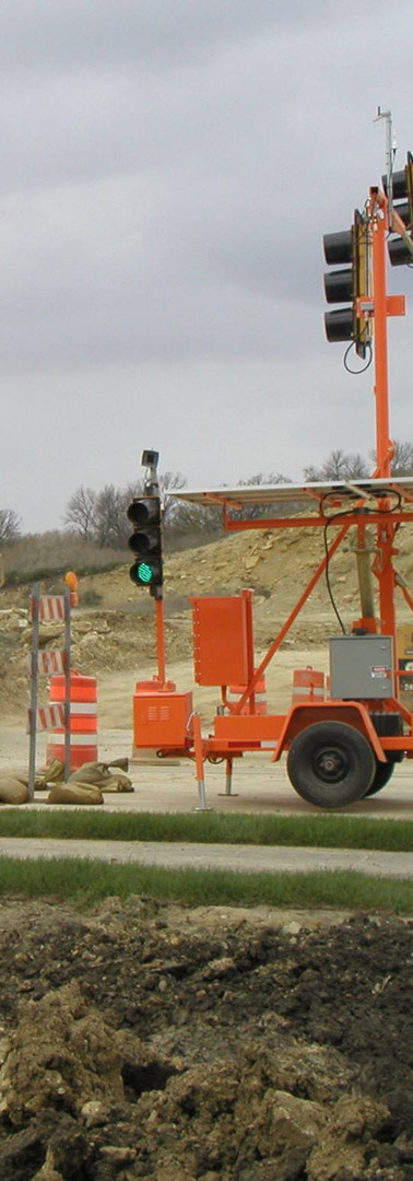 Portable Signal Haul Road