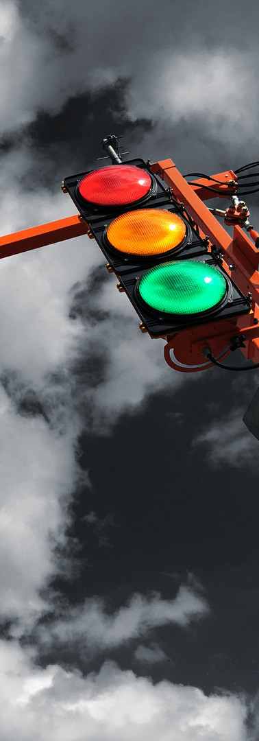 Portable Traffic Signal Illumination Light