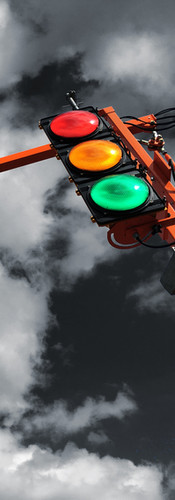 Portable Traffic Signal Illumination Light