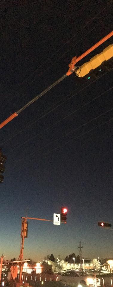Portable Signals at Night