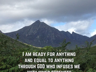 I am ready for anything..