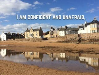 I am confident and unafraid,  because the LORD is my strength.