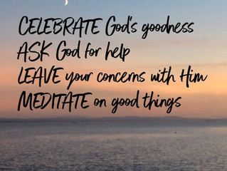 Celebrate God's goodness..