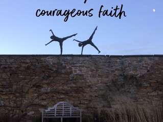 Don't lose your bold, courageous faith