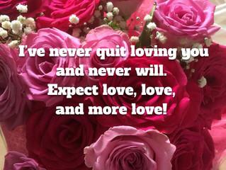 I've never quit loving you..