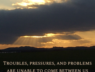 Troubles, pressures and problems..