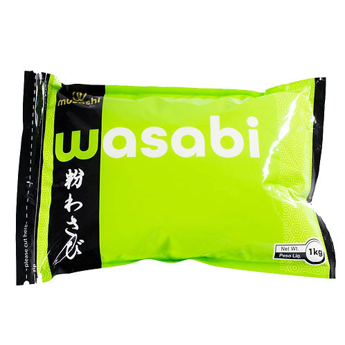 TPW1007 - Tempero Wasabi em pó Tradicional WT 1,05Kg - Musashi