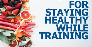 Five Tips to STAY HEALTHY