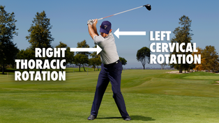 Neck Mobility Limiting Your Backswing?