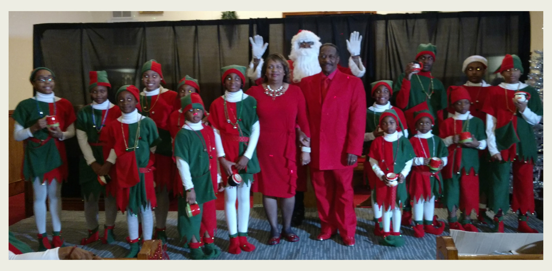 Pastor & First Lady, Deacon Kittrell and the Youths