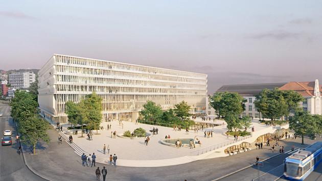 Neubau Forum UZH