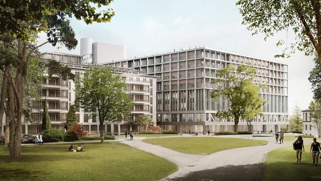 Neubau USZ Campus MITTE1