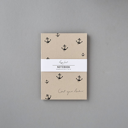 'Cast your Anchor' Notebook