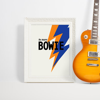 David Bowie Art Print Gallery Wall Floppy Toast