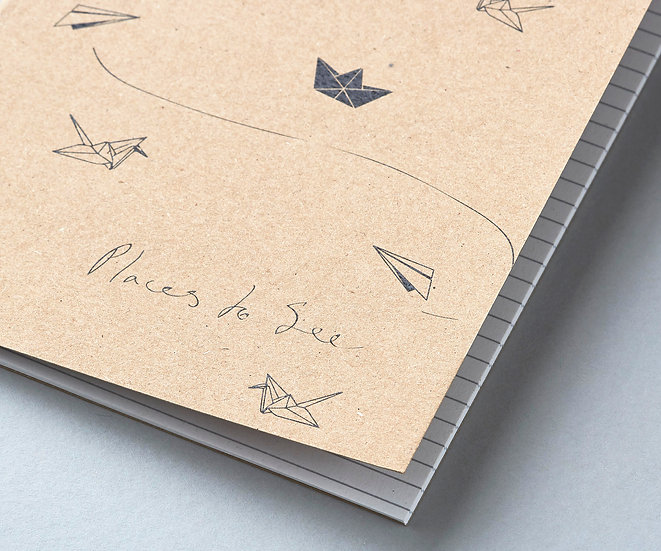 'Places to see' Notebook