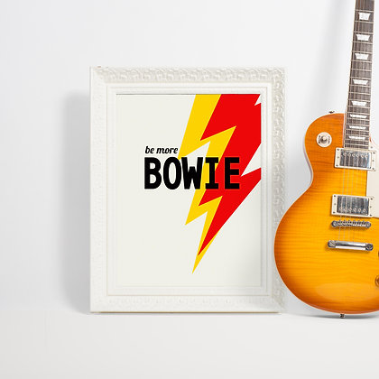 David Bowie Art Print Gallery Wall