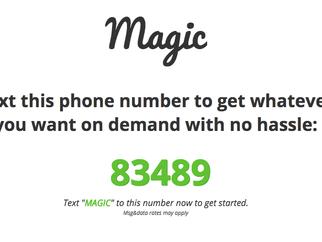 短信上完成的Magic | 來自山景城的倒退式創新