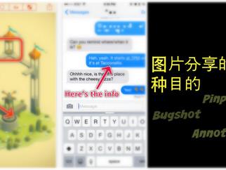 Bugshot -> Pinpoint | 图片分享的一种目的