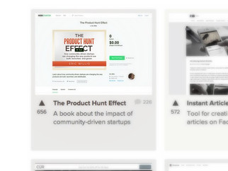 The Product Hunt Effect | 微妙的社群之路