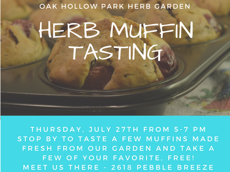 Herb Muffin Tasting (2017)