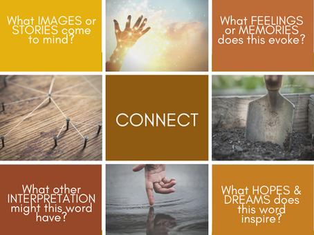 Come CONNECT. CULTIVATE. CREATE.