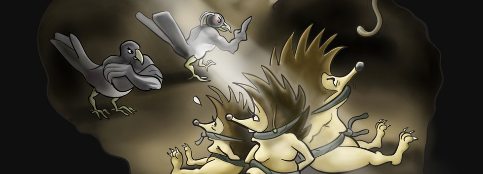 Hedgehog Hostages