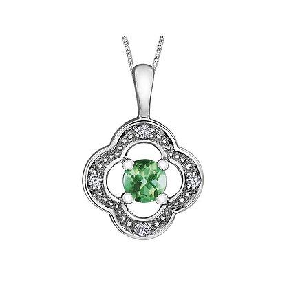 Emerald Flanders Pendant
