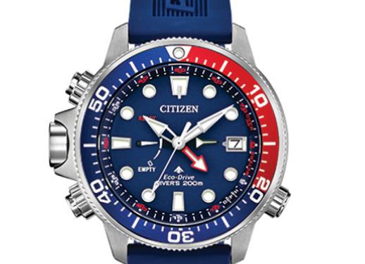 Citizen - Blue Rubber Divers Watch