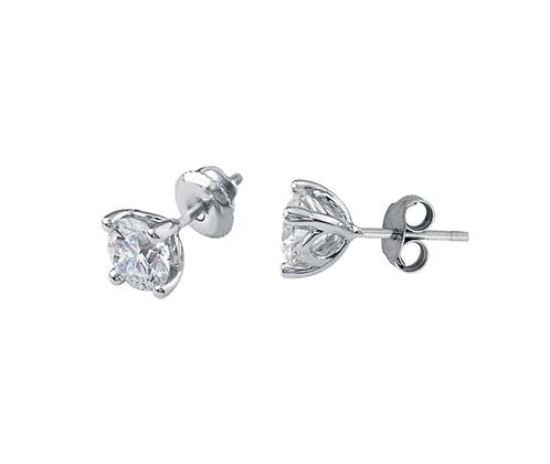 Round Cut Canadian Diamond Studs (0.45 carat)