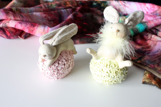 Spring Bunny Decor