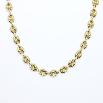 """Yellow Gold Gucci Link Chain (20"""")"""