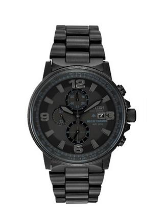 Citizen - All Black Multi Dial Watch