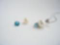 Blue Topaz Pearl Pendant