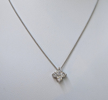 DIAMOND 5 STONE NECKLACE