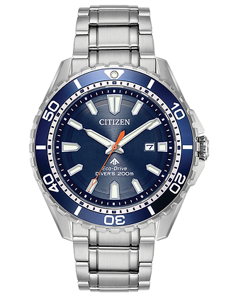Citizen - Blue Dial with Silver Metal Band