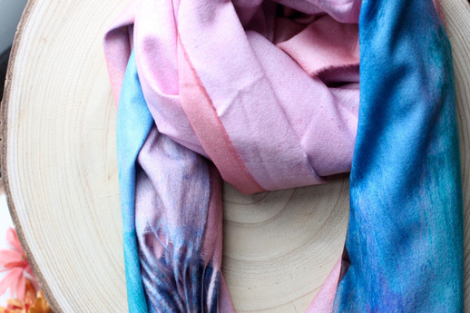 Soft Water Colour Scarf