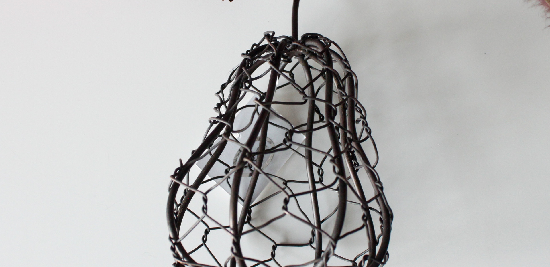 Wire Pear Decor