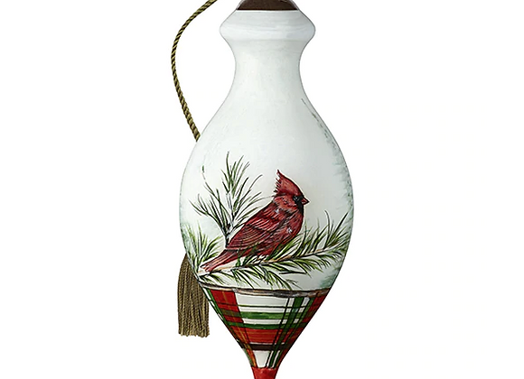 """Woodland Lodge Cardinal"" Ornament"