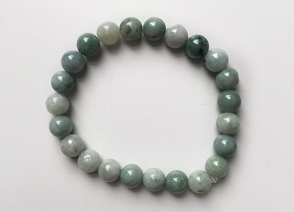 Burma Jade Beaded Bracelet