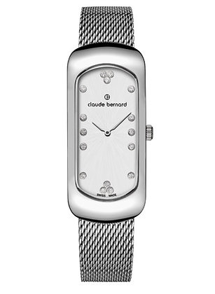 Silver Metal Band Watch by Claude Bernard