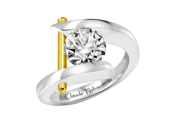 Claude Thibaudeau Wrap Around Engagement Mount