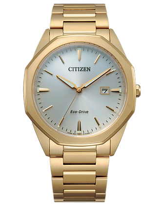 Citizen - White Dial with Gold Band