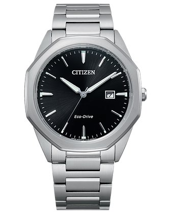 Citizen - Black Dial with Silver Metal Band