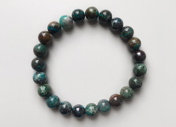 Azurite Beaded Bracelet
