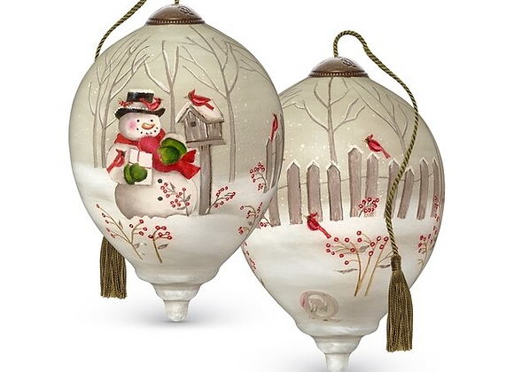 """""""Holiday Greetings"""" Ornament"""
